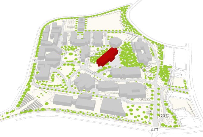生涯学習センター事務部の地図